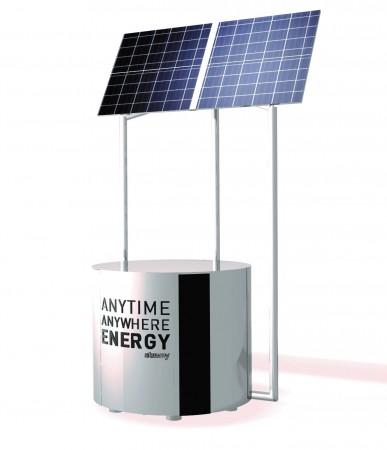 MYE 1 le premier groupe électrogène autonome de puissance.