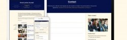 Le nouveau site web du Programme l'Europe pour les Citoyens sur différents supports.