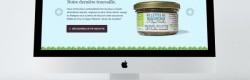 Le site internet de la Cuisine de Lucie.