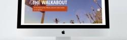 Le site internet réalisé pour le Walkabout Hotel.