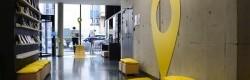 Scénographie et signalétique pour les Student Welcome Desk
