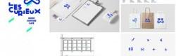 Design d'espace boutique et identité pour les Curieux