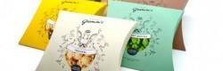 Identité graphique et packaging, branding pour la Maison Gramm's