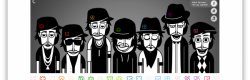 La scène de l'application Incredibox.