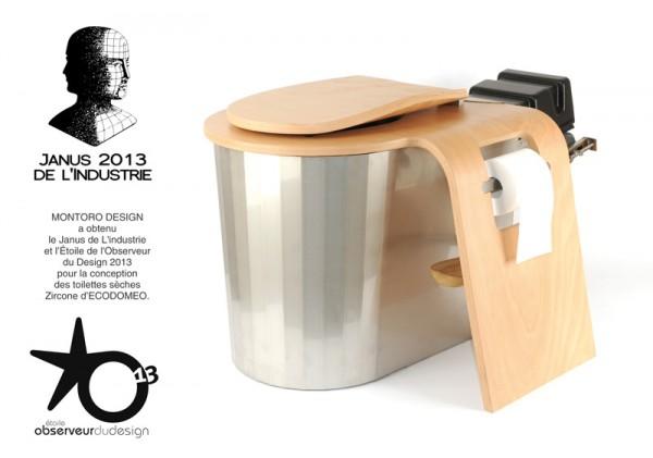ZIRCONE - ECODOMEO récompensé du Janus de l'Industrie 2013 et de l'Observeur du Design 2013