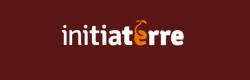Ìnitiaterre, logo, version négatif