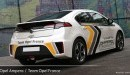 Identité visuelle Opel Ampera Rallye Monte-Carlo Energies Nouvelles