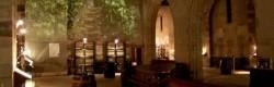 Salle de visite et de dégustation dans l'église des Cordeliers du XIIIéme siècle